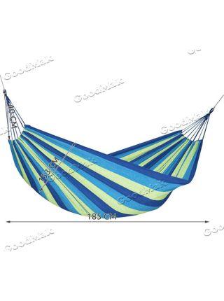 Гамак двомісний XXL синій (153x200 см)