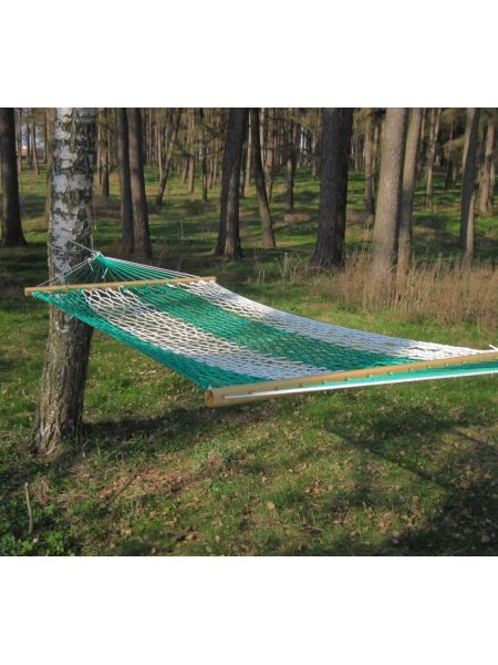 Гамак Бело-зеленый (100х200 см)
