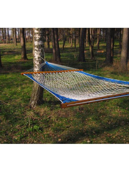 Гамак Бело-синий (120х200 см)