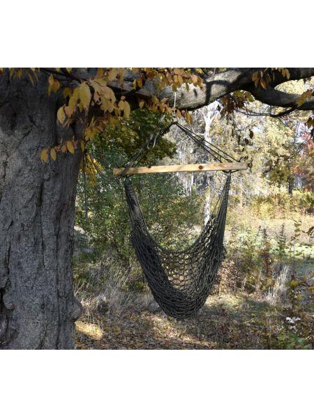 Подвесное кресло плетеное (хаки)