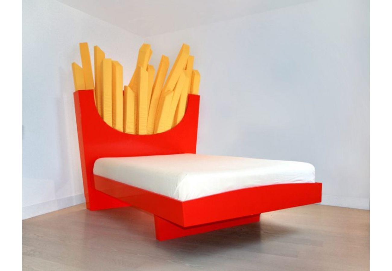 Кровать в виде картошки-фри