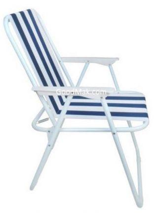 Стул пляжный (синий)