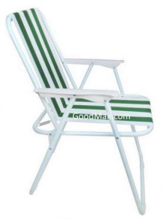 Стул пляжный (зеленый)