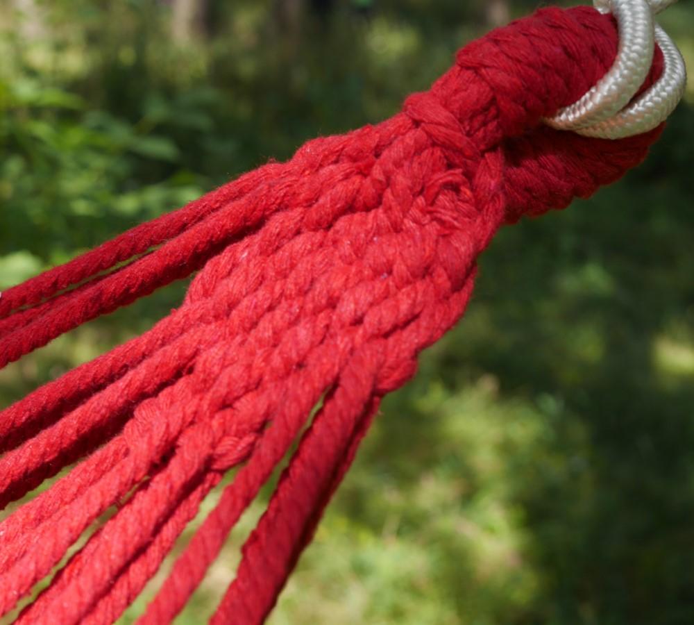 Крепление гамака из веревки