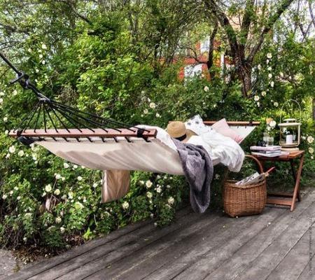 Идеальное место для сна на открытом воздухе