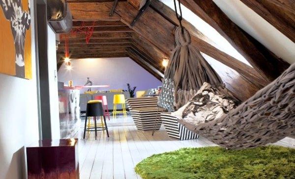 Молодежная комната с гамаком